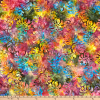Michael Miller Tropical Batiks Tropical Leaves Batik Calypso