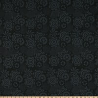 Island Batik Geared Up Gears Black