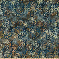 Island Batik Clockworks Gears Surf and Sand