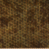 Island Batik Geared Up Hexigon Bronze