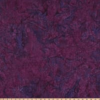 Island Batik Kaleidoscope Mosaic Lines Grape Juice
