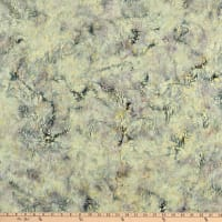 Island Batik Quiet Shades Wildfowers Glacier