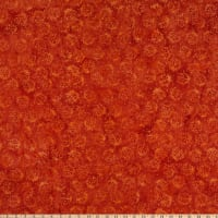 Island Batik Garden Party Ladybug Dark Flame