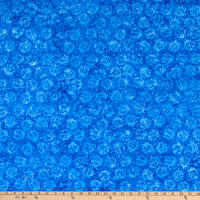 Island Batik Blueberry Patch Ladybug Royal Blue