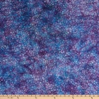 Island Batik Blue Sea BLueberry Mini Bubbles