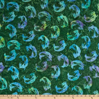 Island Batik Magical Reef Grass Tossed Mermaid