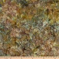Island Batik Sand Bar Coral Jungle Water