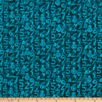 Island Batik Little Sir, Little Miss Dark Lagoon Numbers