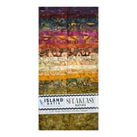 "Island Batik Speak Easy Strip Pack 2.5"" Strips 40 Pcs"
