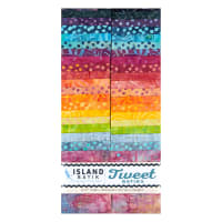 "Island Batik Tweet Strip Pack 2.5"" Strips 40 Pcs"