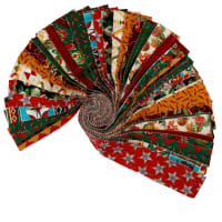 Baxter Mill Santa Fe Christmas 40pc Strip Roll Multi