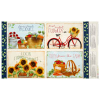 Wilmington Country Road Market Placemat Panel Multi