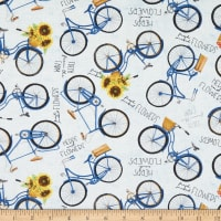 Wilmington Country Road Market Bikes Allover Blue