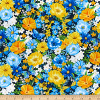 Wilmington Madison Large Floral Blue