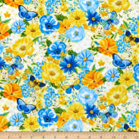 Wilmington Madison Large Floral Yellow