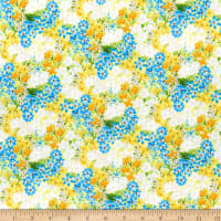 Wilmington Madison Small Floral Yellow