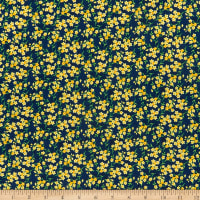 Wilmington Madison Tiny Floral Blue/Yellow