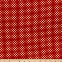 Wilmington Coffee Time Dots Red