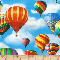 Kaufman Everyday Favorites Balloons Sky