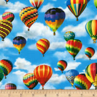 Kaufman Everyday Favorites Hot Air Balloons Sky