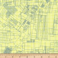 Kaufman Collection CF Blueprints Yellow