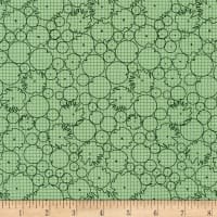 Kaufman Collection CF Circles Graphs Green