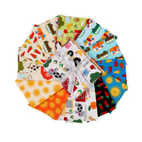 "Kaufman State to State  18"" Fat Quarters Multi 13pcs"