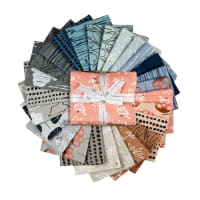 Kaufman Fat Quarter Bundles Driftless Linen Blend 26pcs Multi