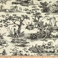 Waverly Idyllic Days Toile Noir