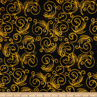 Batik By Mirah Holiday Citron Swirls