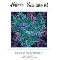 Hoffman Bali Batiks Dance Of The Butterfly Kit Turquoise