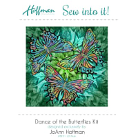 Hoffman Bali Batiks Dance Of The Butterfly Kit Multi