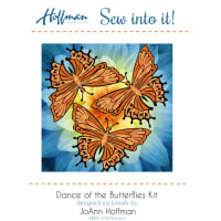 Hoffman Bali Batiks Dance Of The Butterfly Kit Monarch