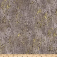 Hoffman Metallic Luxe Stone Texture Taupe/Gold