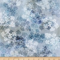 Hoffman Digital McKenna Ryan Painted Forest Queen Anne's Lace Dusty Blue