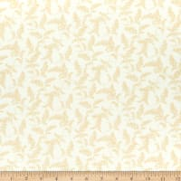 Henry Glass Flannel A Peaceful Garden Astilbe Cream