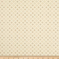 Henry Glass Esther's Heirloom Shirtings Nine-Patch Clusters Cream