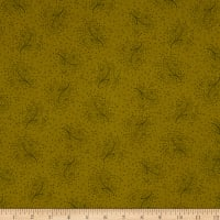 Henry Glass Esther's Heirloom Shirtings Floral Sprays Green