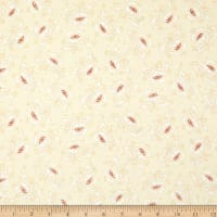 "Henry Glass 108"" Spiced Quilt Back Stylized Flower Cream"