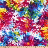 "Henry Glass Digital Splash 108"" Quilt Back Multi Bright"