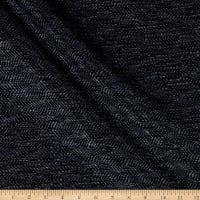 Richloom Fortress Clear Bhavani Woven Midnight