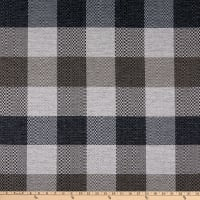 Richloom Fortress Clear Pittman Woven Bluestone