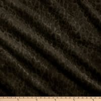 Richloom Upholstery Faux Fur Sinai Charcoal