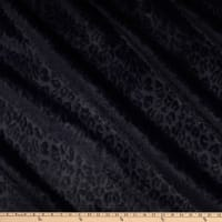 Richloom Upholstery Faux Fur Sinai Midnight