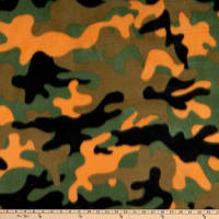 Polar Fleece New Camo Orange