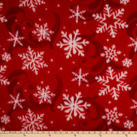 Polar Fleece Blizzard Red