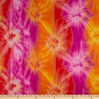 Polar Fleece Java Tie Dye Azalea