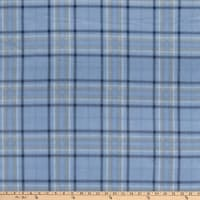 Polar Fleece Charles Plaid Blue