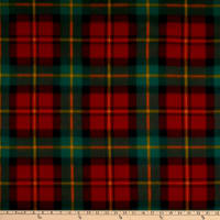 Polar Fleece Chris Plaid Red/Green