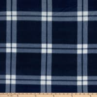 Polar Fleece Chris Plaid Navy